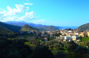 Achlada Village near Agia Pelagia and Heraklion, Crete