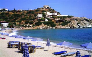 Lygaria Beach and Village, near Agia Pelagia, Heraklion
